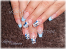 Мои работы - Студия ногтевого сервиса Любови Шкуриной. Наращивание ногтей г. Хотьково - 2013-01256