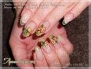 Работа на тему Аромат весны-2013 - Студия ногтевого сервиса Любови Шкуриной. Наращивание ногтей г. Хотьково