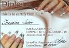 Наращивание ногтей г. Хотьково - Мои дипломы