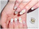 Работа на тему Свадебная коллекция - Наращивание ногтей г. Хотьково