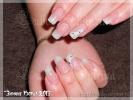 Работа на тему Зимние узоры - Студия ногтевого сервиса Любови Шкуриной. Наращивание ногтей г. Хотьково